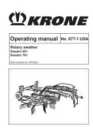Operating manual No. 677-1 USA