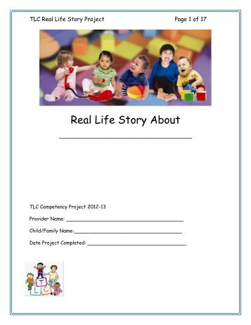 Real Life Story Project - jeffline