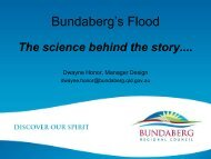 Bundaberg's Flood: The Science Behind the Story - GEMS Event ...