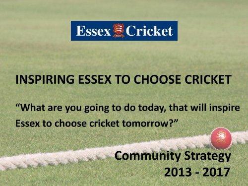 Essex-Strategy-2013-17 - Essex Cricket