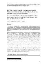 Analisis Faktor-faktor yang Mempengaruhi Perilaku Konsumen dalam