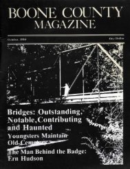 Boone: Your County Magazine Vol. 11 Issue 12