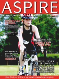 Gatehouse School - Aspire Magazine