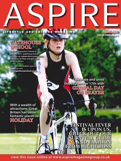 Gatehouse School - Aspire Magazine