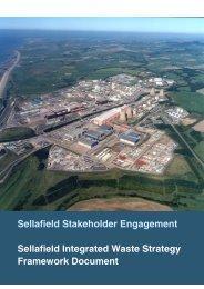 Framework document - Sellafield Ltd