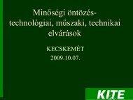 Minőségi öntözés- technológiai, műszaki, technikai elvárások