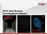 2010 Data Breach Investigations Report