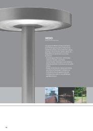 Les appareils HEDO sont des luminaires pour l'éclairage de jardins ...