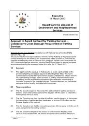 Approval to award contract for Parking Services - Brent Council