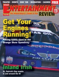 March, 2006 - Inland Entertainment Review Magazine