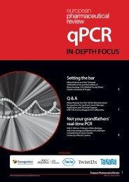 IN DEPTH FOCUS: qPCR - European Pharmaceutical Review
