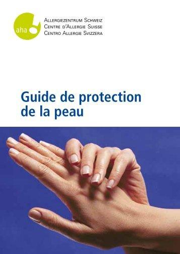 Guide de protection de la peau - Allergie- und Hautpraxis