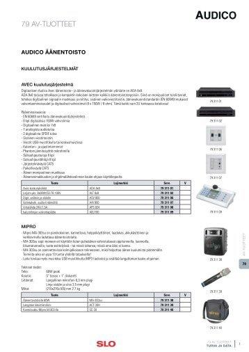 10 AV-TUOTTEET.pdf - SLO