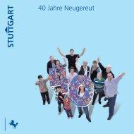 """Festschrift """"40 Jahre Neugereut"""" als PDF - Frischer Wind für ..."""