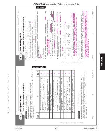 Glencoe algebra 1 chapter 4 test form 2c