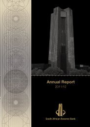 South African Reserve Bank Annual Report 2011/12