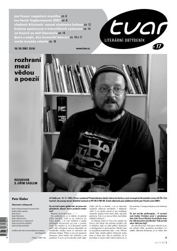 Tvar 17/2007