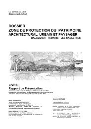 dossier zone de protection du patrimoine - La Seyne-sur-Mer