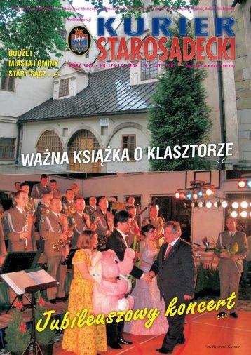 NR 173/174 LUTY 2007 - Kurier Starosądecki