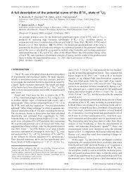 Using JCP format - Physique des Lasers, Atomes et Molecules