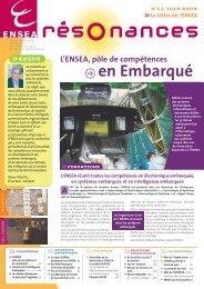 Résonances n°11 (pdf) : l'Ensea, pôle de