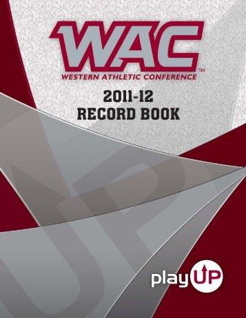 2011-12 WAC Records Book