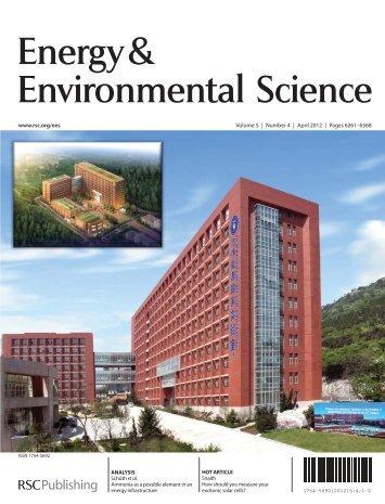 Energy& Environmental Science