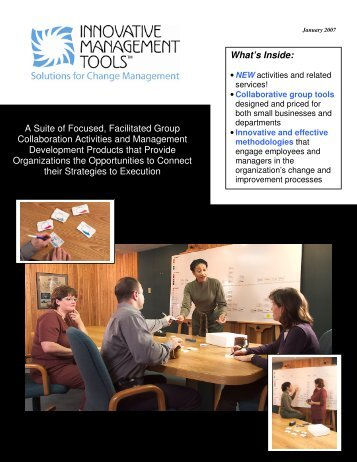 2007 Product Catalog - Innovative Management Tools