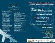 programa_xxvi_tampico patologia_13_feb 09 - Instituto Nacional de ...