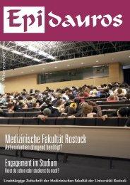 Unabhängige Zeitschrift der Medizinischen Fakultät der Universität ...