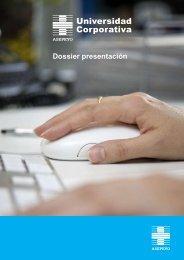 Dossier presentación - Universidad Corporativa Asepeyo