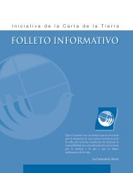 Libreto Informativo - Earth Charter Initiative