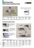 Bohrmaschinen, Gewindeschneid- maschinen - Seite 4