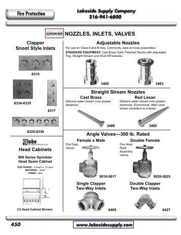 Croker: Fire Protection Specialties - Lakeside Supply Company