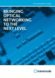 BRINGING OPTICAL NETWORKING TO THE NEXT LEVEL - PennWell