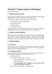 Practical work 7 (pdf) - Helsinki.fi