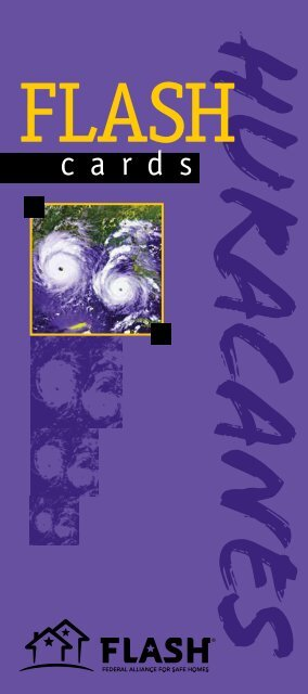 FLASH Cards - Florida Alliance for Safe Homes