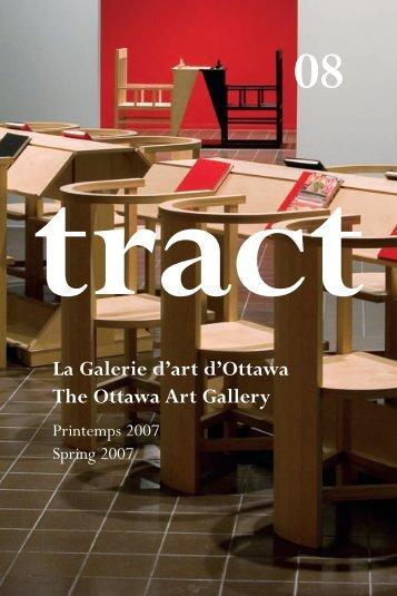 Lisez Tract en format PDF - The Ottawa Art Gallery