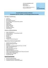Orofaziales Syndrom, Muskel- und Kiefergelenksbeschwerden ...