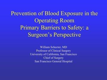 Blood Borne Infection History - San Francisco General Hospital ...