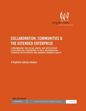 collaboration, communities & the extended ... - Digital Concourse