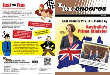 Download PDF - L&M Radiator Inc.