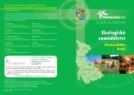 Ekologické zemědělství Olomouckého kraje - Olomoucký kraj