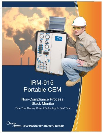 IRM-915 Portable CEMM Brochure - Ohio Lumex Co.