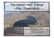 The HAWC High Energy γ-Ray Observatory