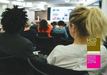 HCD Annnual Report 2014