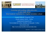 Learning and teaching within diversity - Biennial Meeting of EARLI ...
