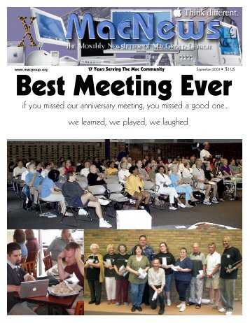 if you missed our anniversary meeting, you ... - MacGroup-Detroit