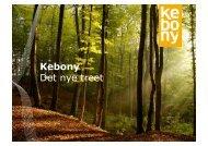 Kebony Det nye treet