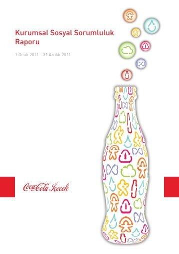 Kurumsal Sosyal Sorumluluk Raporu - Coca Cola İçecek